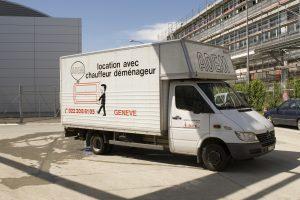 Location de matériel de déménagement avec chauffeur destiné aux particuliers à Genève