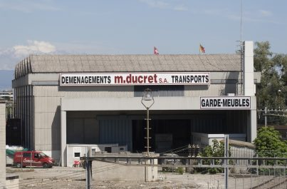 Aperçu du garde-meubles de Ducret à Genève, société de déménagement suisse