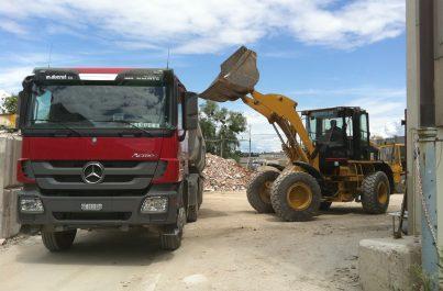 Transport et débarras de chantier à Genève et dans toute la Suisse par Ducret SA