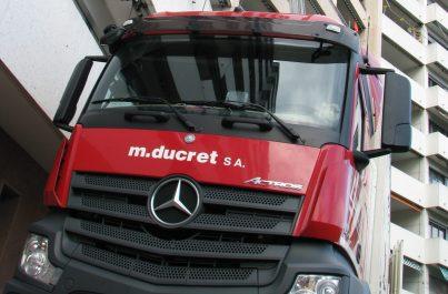 Monte-meubles de Ducret SA expert en déménagement en Genève et dans toute la Suisse