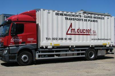 Société de déménagement pour particulier avec prestations de déménagement tout-compris à Genève et en Suisse