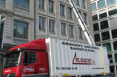 Ducret SA Société de déménagement de bureaux et d'entreprises à Genève et en Suisse