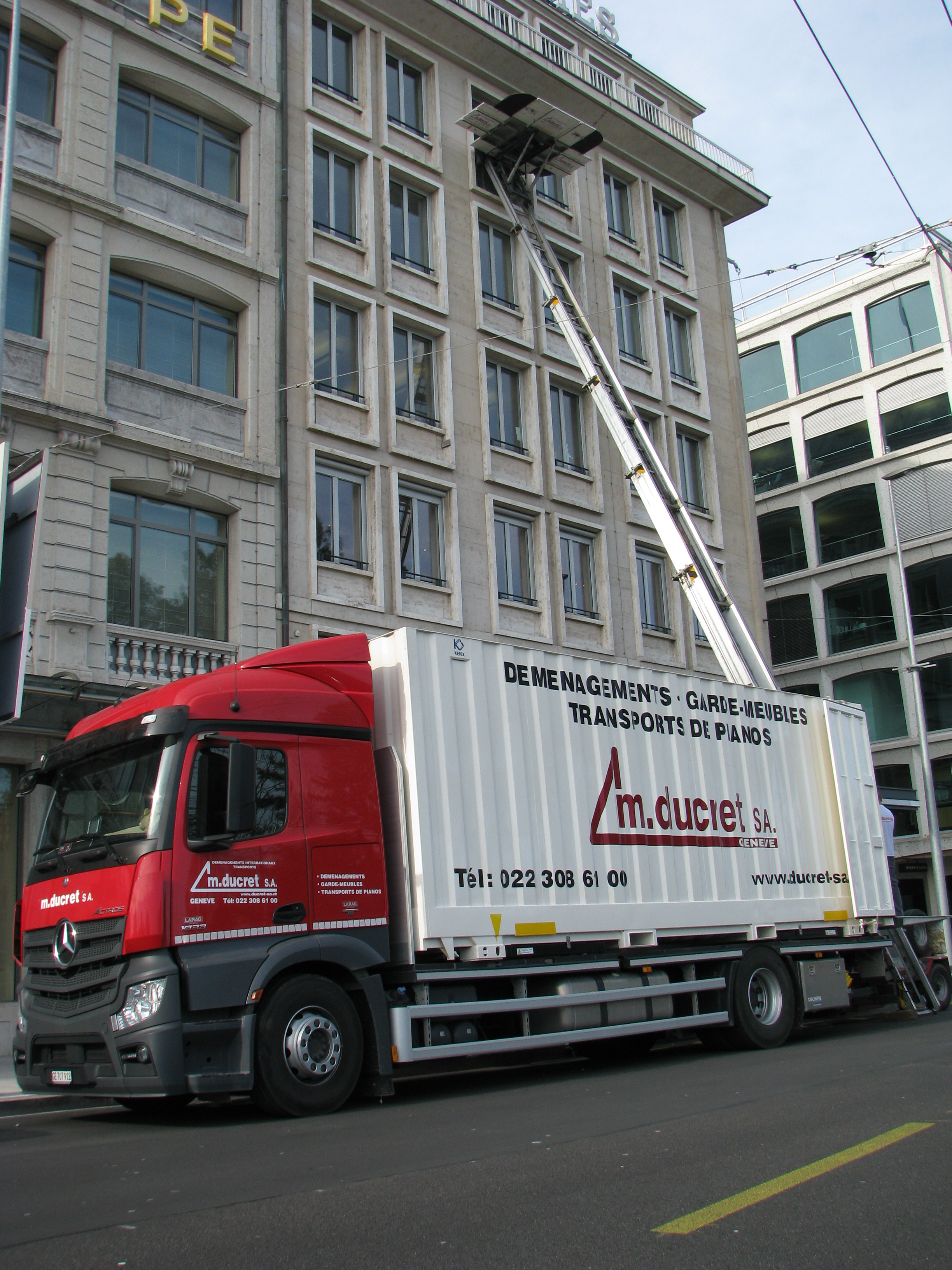 External lift for your move