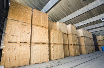 Containers du garde-meubles de Genève appartenant à Ducret SA