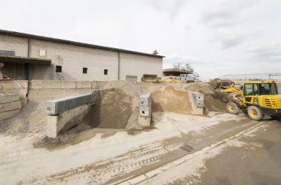 Centre de recyclage pour matériaux de chantier et plateforme de tri à Genève