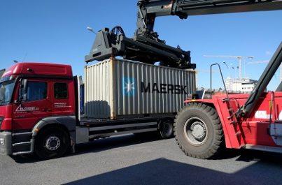 Container maritime pour un déménagement international depuis Genève et la Suisse