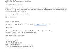 Devis gratuit pour déménagement à Genève en Suisse